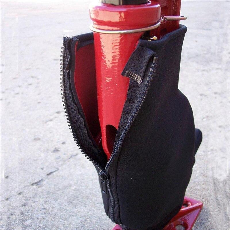 Black Neoprene Car Jack Cover Automobile Lengthened Jack Base Dustproof Cover Car Repair Tool Accessories Fit 36 42 48 60 Inch
