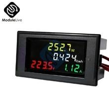 AC 80-300V 100A LCD Digital Voltmeter Ammeter Volt Amp Current Power Kwh Panel Meter Tester Calibration Tools