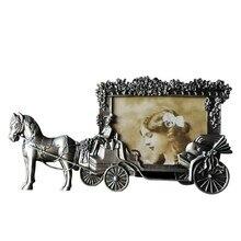 ElimElim-Mini cadres Photo Vintage   Cadre Photo, cheval blanc, cadre Photo