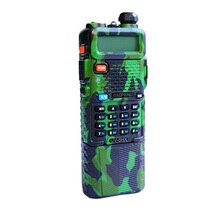 Walkie talkie baofeng uv8hx banda dupla vhf/uhf com ptt rádio amador militar uv82 baofeng UV-5R uv5r rádio portátil comunicador