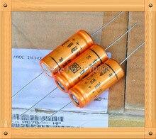 Livraison gratuite!!! 2 pièces fièvre axiale cathode tube amp 160v 100uf condensateur haut