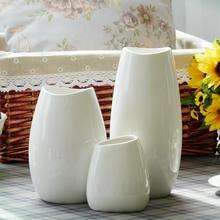 Zemin vazo orta ve küçük klasik beyaz seramik vazo sanat ve el sanatları dekor çiçek vazo yaratıcı hediye ev dekorasyon S