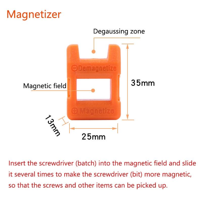 1ks silné jednoduché a dvojité magnetické kroužky, magnetický - Vrták - Fotografie 4