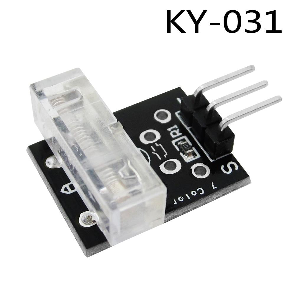 10pcs/lot 3pin KEYES KY-031 Percussion Knocking Knock Sensor Module for Diy Starter Kit KY031