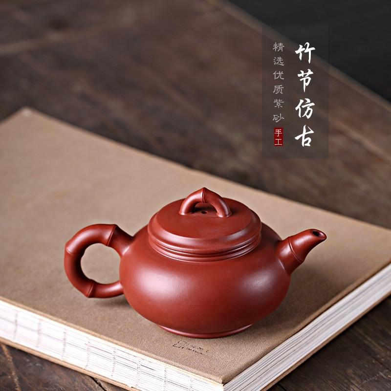 חול סיר, Dahongpao עפרות שלי סגול בוץ טהור בעבודת יד סיר, במבוק משותף, עתיק Teaware אריזת מתנה אחת משלוח במפעל
