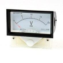 1 PC 85C17 classe 2.5 DC 0-20 V 15 V 30 V 50 V 100 V 150 V 250 V 300 V V voltmètre de jauge de panneau de tension