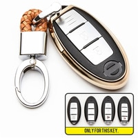 TPU Car Key Cover Case For Infiniti EX FX G25 G37 FX35 EX25 EX35 FX37 EX37 Q60 QX50 QX70 Car Key Shell For Nissan Qashqai Murano