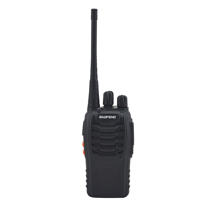 2pcs/lot BF-888S baofeng walkie talkie 888s UHF 400-470MHz 16Channel Portable two way radio with earpiece bf888s transceiver enlarge