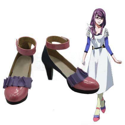 Аниме Косплэй Обувь Токио упыри Лолита панк Панк японский тонкие туфли камиширо