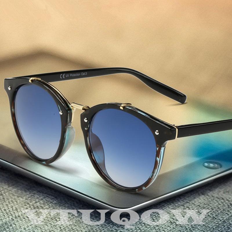 Gafas de sol clásicas de ojo de gato gafas de sol para hombres y mujeres de marca de diseñador 2020 Retro Vintage redondas gafas de sol para hombres gafas de sol UV400 nuevas