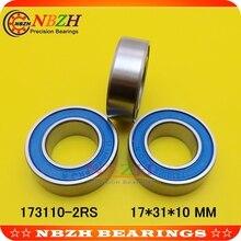 Di alta precisione cuscinetto della bicicletta 173110-2RS 17*31*10mm per la parte inferiore staffe cuscinetti