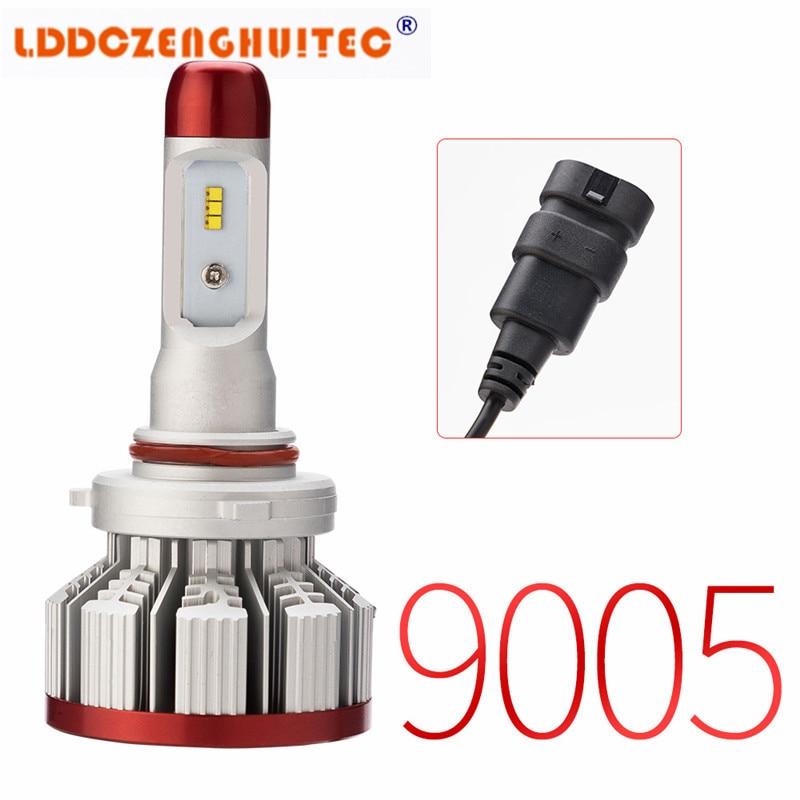 LDDCZENGHUITEC  H7 H4 LED Bulb Car Headlight H11 H1 H13 H3 H27 9005/HB3 9006/HB4 9007 Hi-Lo Beam 64W 6000LM Auto Headlamp LEDs