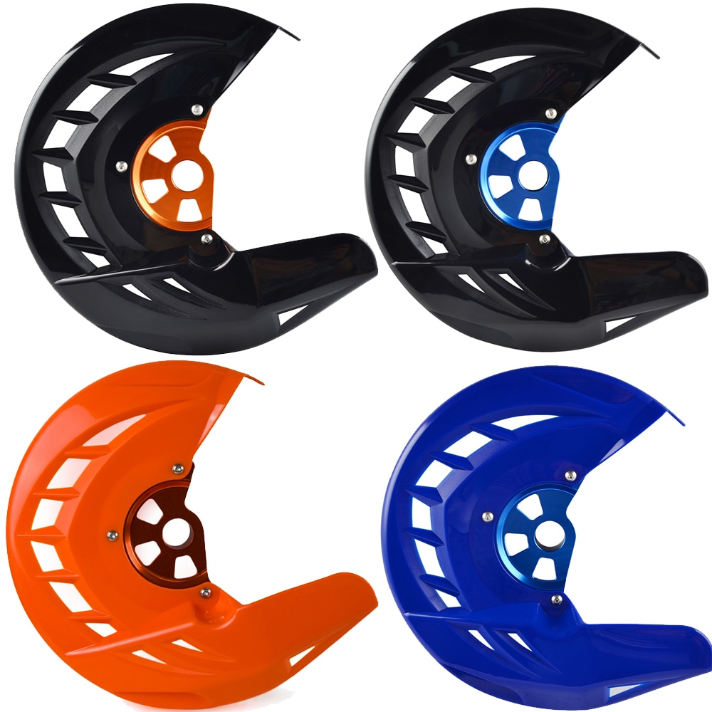 Protector de disco de freno delantero para Husqvarna Husaberg TE FE TC FC TX FX FS 125, 150, 200, 250, 350, 390, 450, 501 para KTM SX EXC XC SXF EXCF