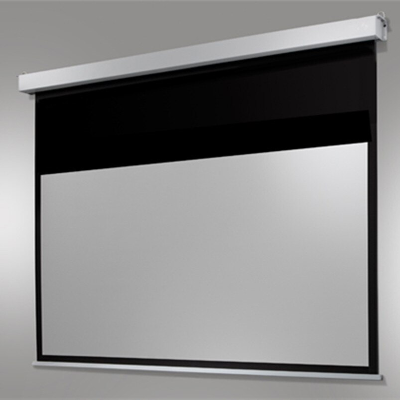 "Pantalla eléctrica motorizada Auto HD para cine en casa de 120 "", pantalla de proyección oculta para proyector de 43"