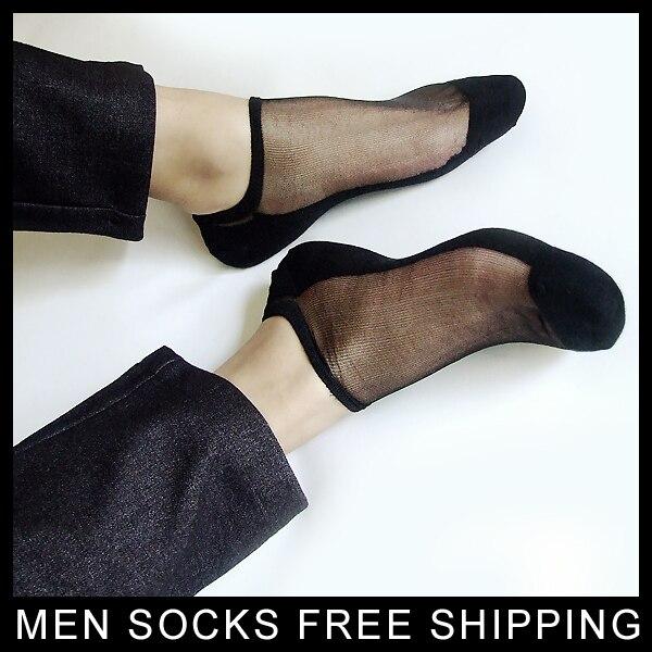 Homens nylon sox Tornozelo meias de seda Sensuais para o sexo masculino de Alta qualidade homem meias TNT atacado varejo New style