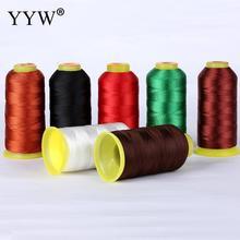 YYW 1.5mm bijoux bricolage fabrication cordon fil soie perles fil perle chaîne 100m bobine Nylon cordon fil bijoux fantaisie fil