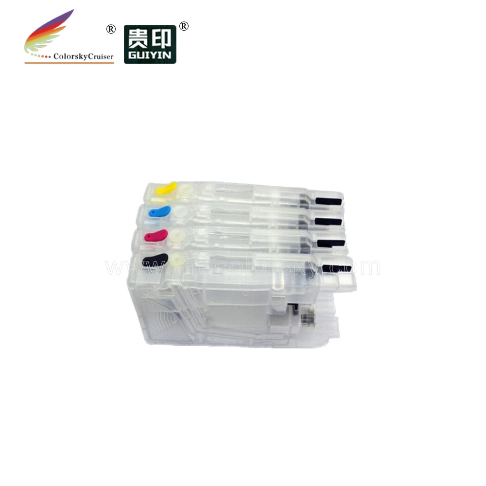 (RCB-LC1280) многоразовый чернильный картридж для Brother DCP-J940N-B DCP-J940N-W LC 1240 1220 400 75 73 71 12 73 77 79 17 453 kcmy