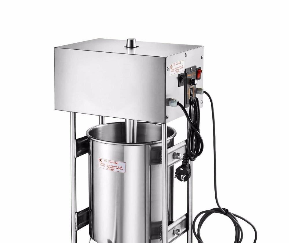 سعة 10L للاستخدام التجاري 110 فولت 220 فولت اوتو اسباني اسباني ماكينة صنع الشورو خباز ، ماكينة تشورس ، ماكينة تعبئة السجق