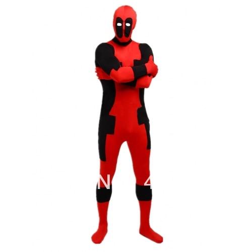 Deadpool costumes  red and black deadpool costume Halloween costume