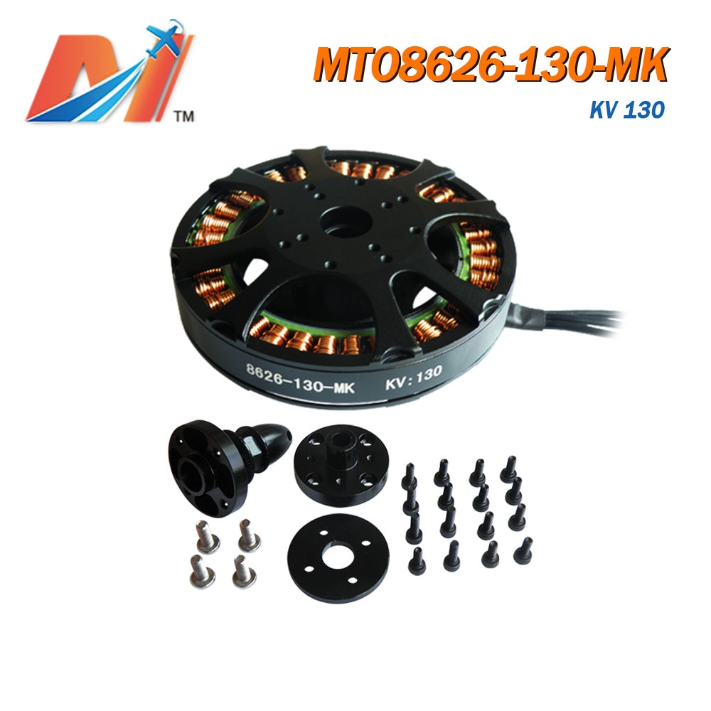 Tamanho para rc Drone com 30% Maytech Brushless Outrunner Motor Elétrico u8 Hexacopter Off 2 Pcs 130kv 8626