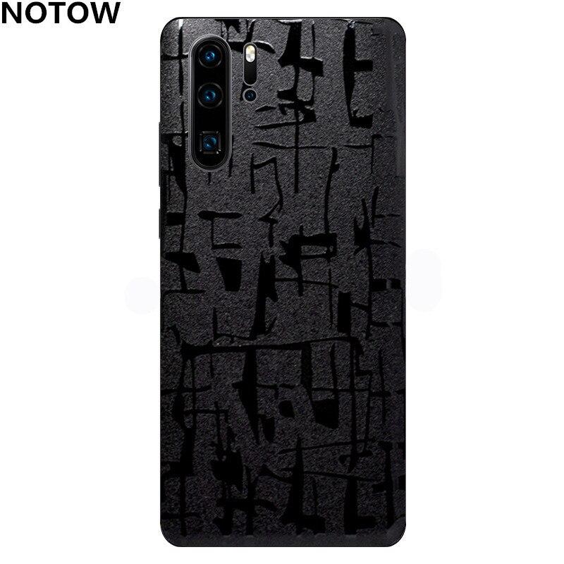 NOTOW крокодиловая кожа ПВХ наклейка Мобильная задняя паста Защитная пленка для Huawei p30/p30pro/p30lite/mate 20/mate20pro/mate20x