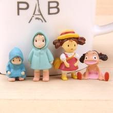 Anime 2,2-3,2 cm Xiaomei dekorative gartenarbeit Miyazaki Micro Landschaft dekoration ornament action figur modell geschenk freies verschiffen