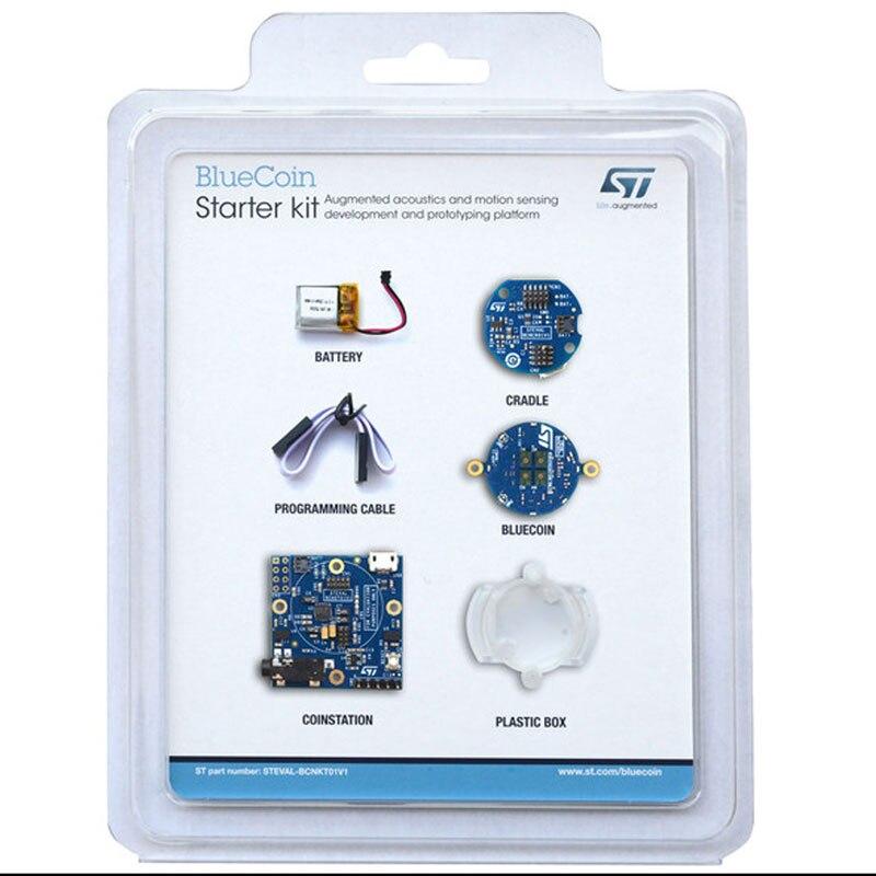 1 piezas x STEVAL-BCNKT01V1 Kits de desarrollo-brazo BlueCoin kit de arranque con el brazo corteza M4 Core EVALUACIÓN DE STM32F446