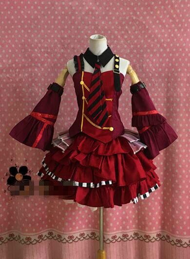 Tsuki Motomiya Matsuri Cosplay Traje Hloween Trajes Vestido Personalizado Uta