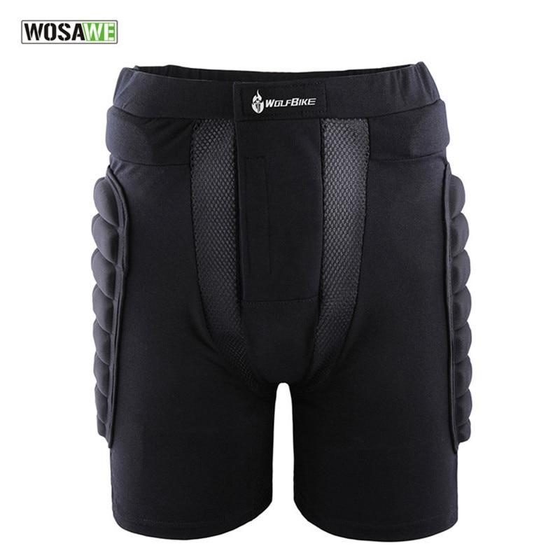 Горячая Распродажа женские Защитные шорты с подкладкой для катания на лыжах