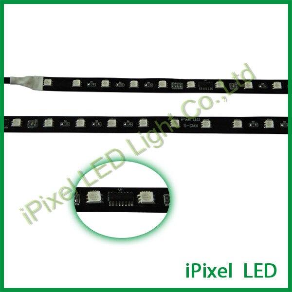 DC24V addressabke smd 5050 rgb dmx led strip ,48leds/m,14w/m,can be waterproof