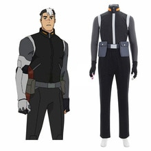 Disfraz de Cosplay de Shirogane Shiro Takashi, defensor de la Voltron Legendary