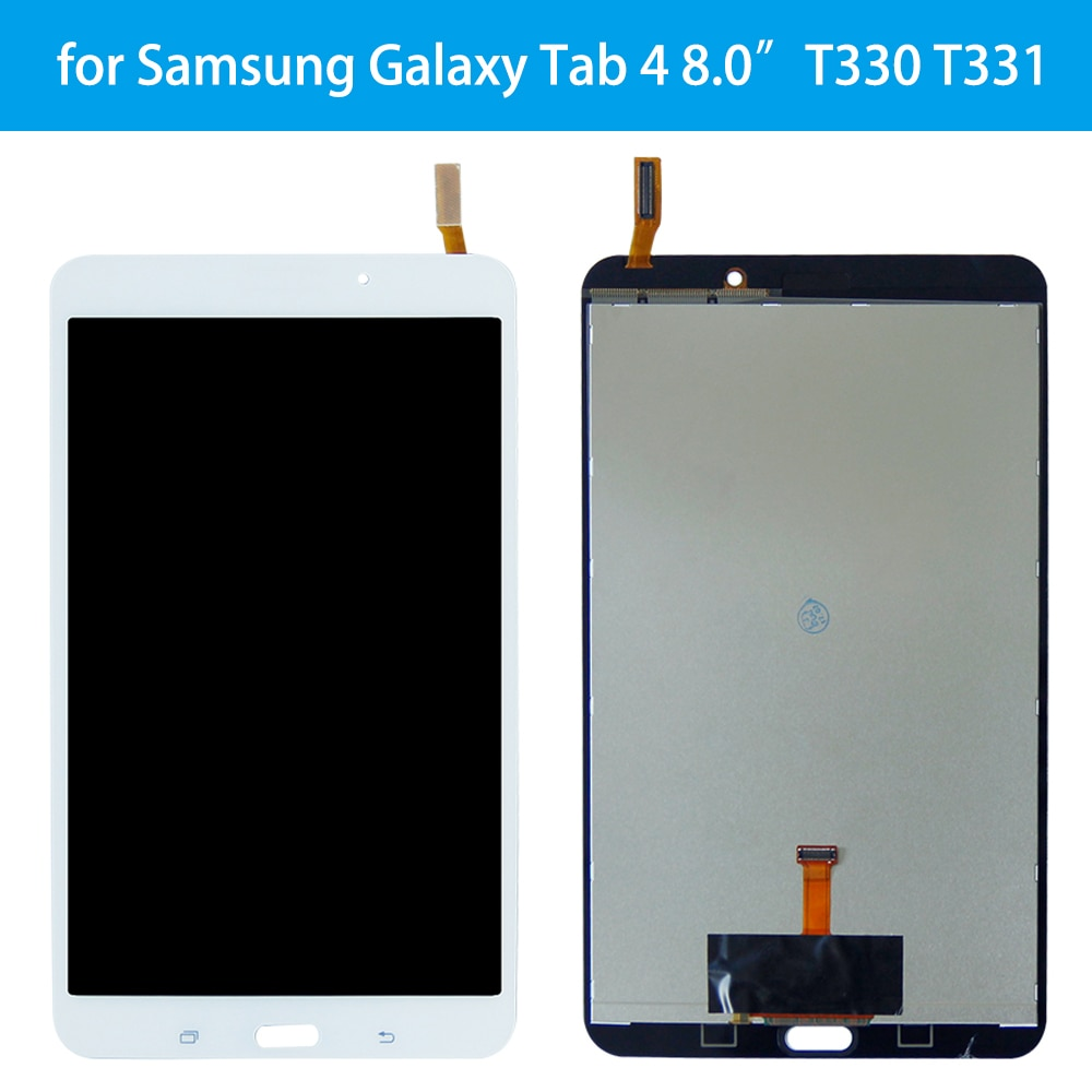 AAA + pantalla LCD de calidad para Samsung Galaxy Tab 4 8,0 SM-T330NU T330 T331 pantalla LCD recambio de conjunto de pantalla táctil