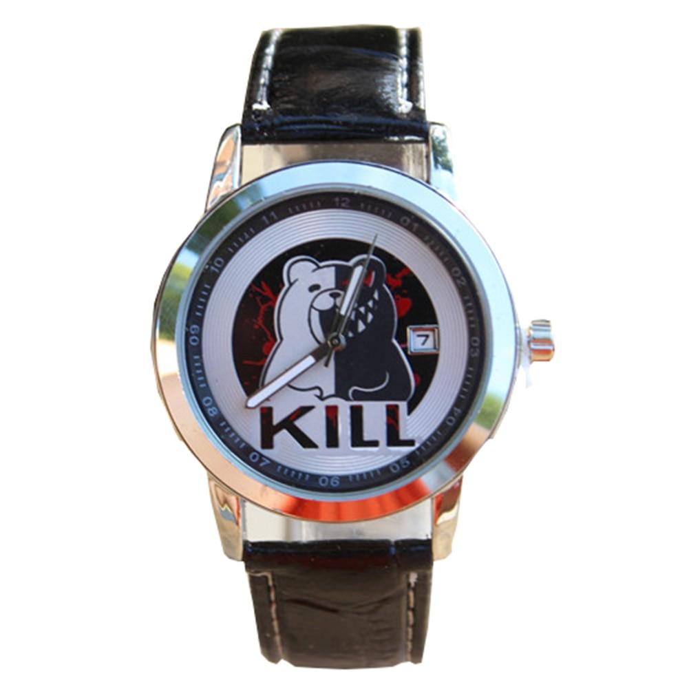 Bsarai Chopper kiseiju Gintama Monokuma K Bleach Conan Black Butler Fairy Tail Death Note Vampire Knight Wrist watch enlarge