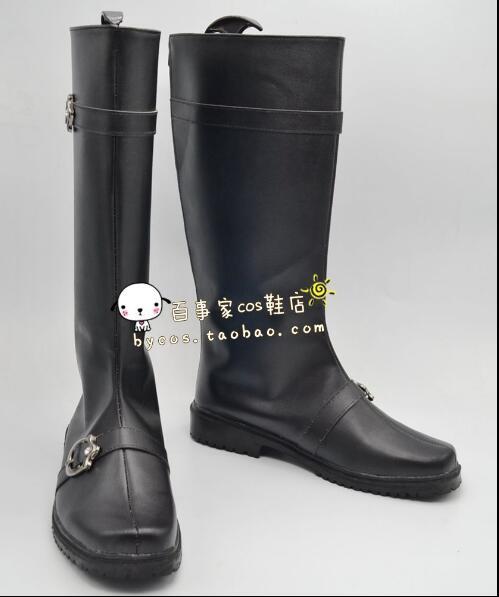 Anime gintama cosplay plata alma Sakata Gintoki Cosplay botas de zapatos negros