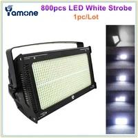 1pclot bright 1000w dmx led strobe light 800pcsx1 2w cold white color 6500 7200k powercon inout led atomic flash wash light