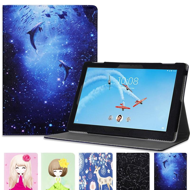 Модный чехол для 10,1 дюймов Lenovo TAB4 10 Plus TB-X704 TB-X704F планшетный ПК для Lenovo Tab 4 10 plus