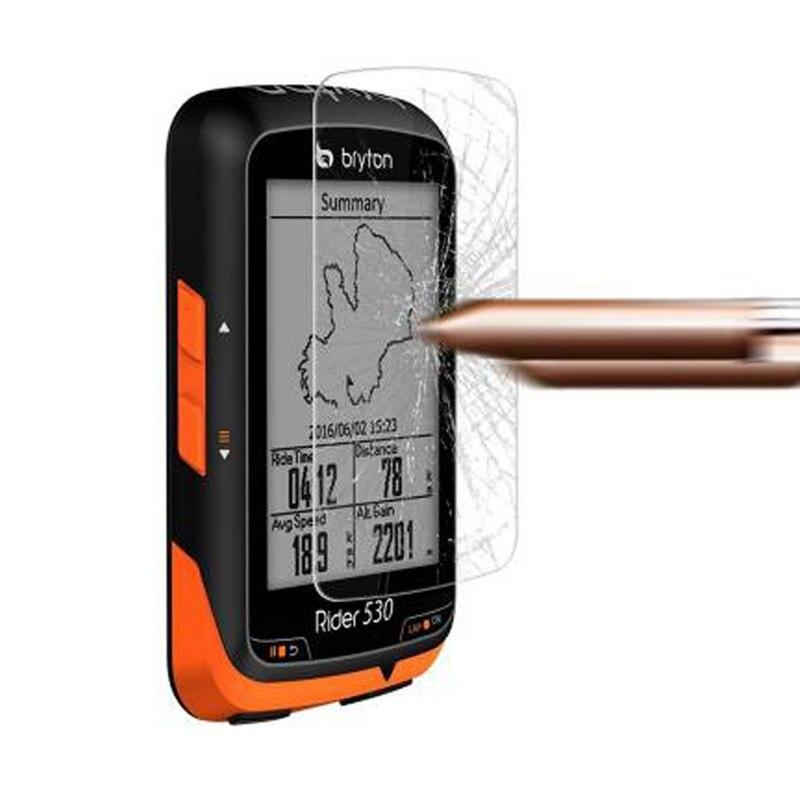 Vidro temperado claro protetor de película protetora para bryton rider 530 r530 gps passeio da bicicleta relógio inteligente tela protetor capa