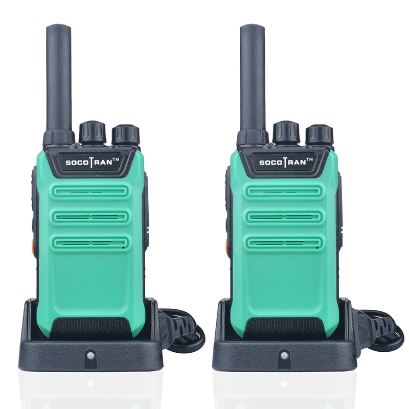 2PCS/Lot SOCOTRAN SC-508 mini walkie talkie UHF 400-470MHz 16CH 2W Portable Two way Radio scrambler VOX ham radio (Four colors) enlarge