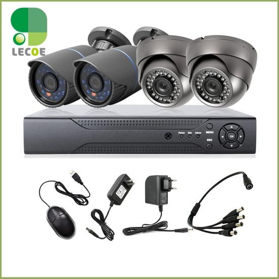 4CH CCTV Kit DVR HDMI 1200TVL IR Weatherproof Outdoor HD Analog Cameras Home Security Surveillance System