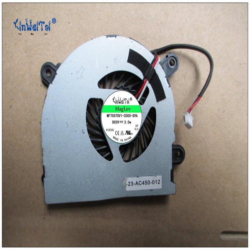 2 шт. охлаждающий вентилятор для ноутбука охлаждающий вентилятор для MSI S6000 X600 CLEVO 7872 C4500 вентилятор AB6505HX-J03 AB6605HX-J03 6-31-W25HS-100 BS5005HS-U89