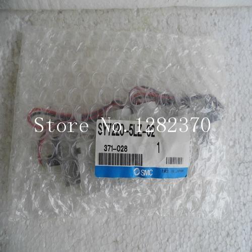 [SA] New Japan genuine original SMC solenoid valve SY7220-5LZ-02 spot --2PCS/LOT
