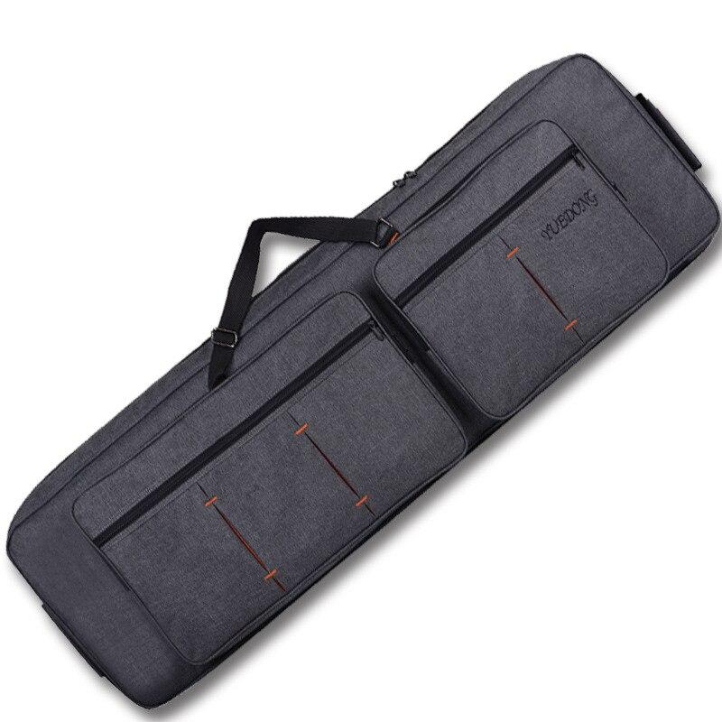 لوحة مفاتيح احترافية تحتوي على 88 مفتاحًا ، حقيبة عضو إلكتروني ، حقيبة ظهر محمولة ، أكتاف ناعمة ، مع حقيبة تخزين دوارة