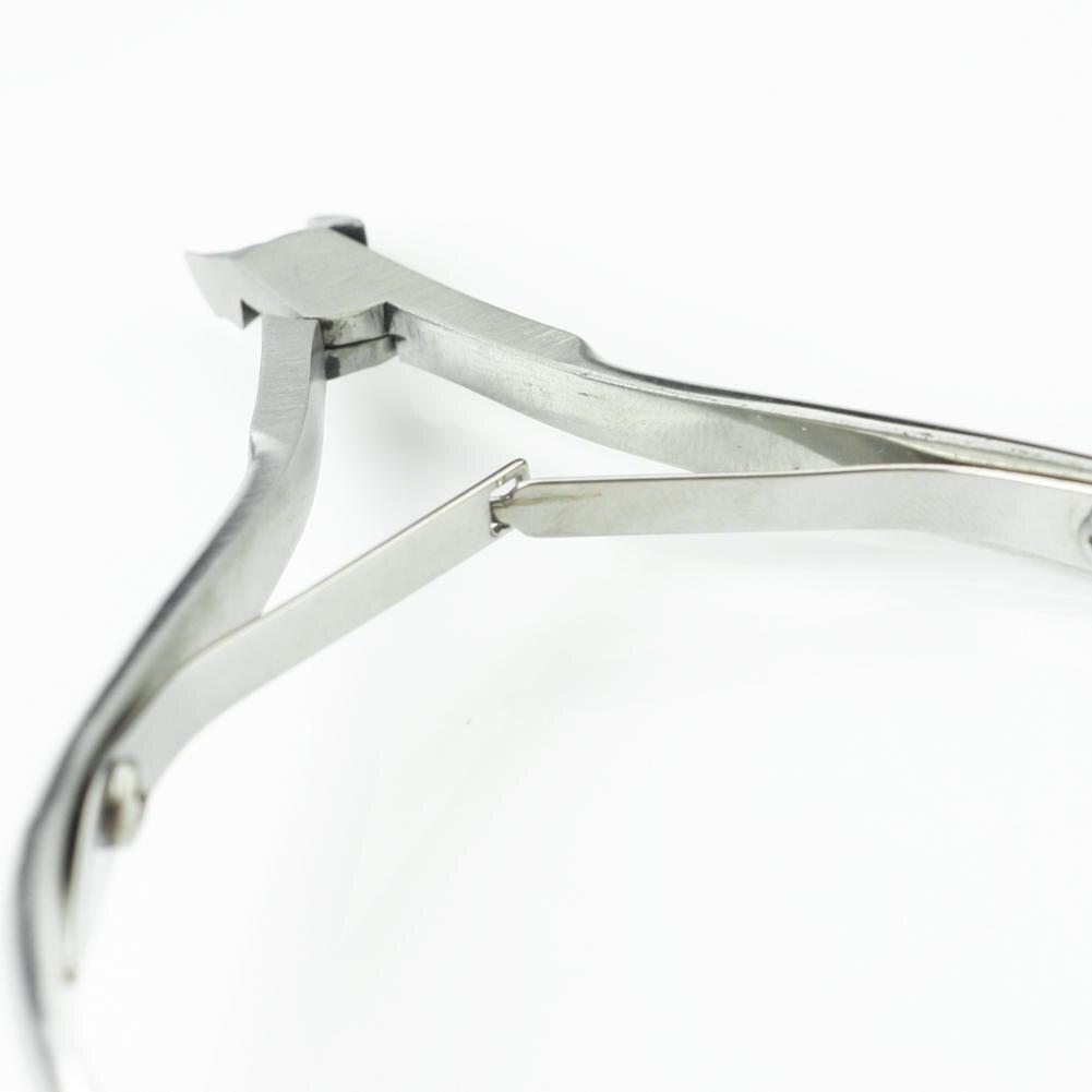 Pro Stainless steel Cuticle Nipper Manicure Cutter Trimmer Nail Art DIY Tool Neu