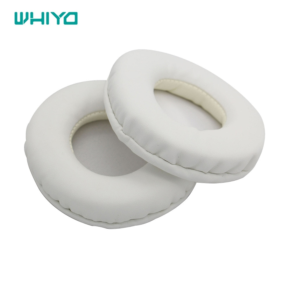 Whiyo 1 Pair of Protein Leather Ear Pads Cushion Cover Earpads Replacement Cups for Sony MDR-RF811R MDR RF811R Headphones