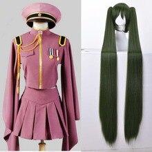 Anime Hatsune Miku Cosplay perruque Vocaloid Hatsune Miku Senbonzakura Kimono uniforme robe tenue Anime Cosplay Costumes ensemble entier