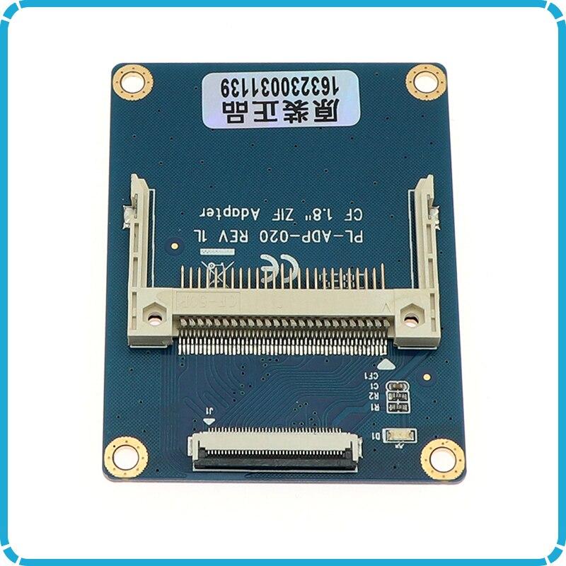 "¡Venta al por mayor! Tarjeta de memoria Compact Flash CF de 1,8 ""a CE para Toshiba Ipod ZIF adaptador de disco duro SSD con 2 Cables"