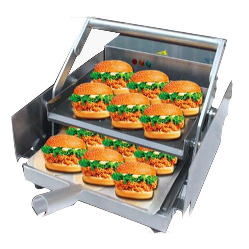 Máquina comercial de hamburguesas eléctrica comercial 1 Uds