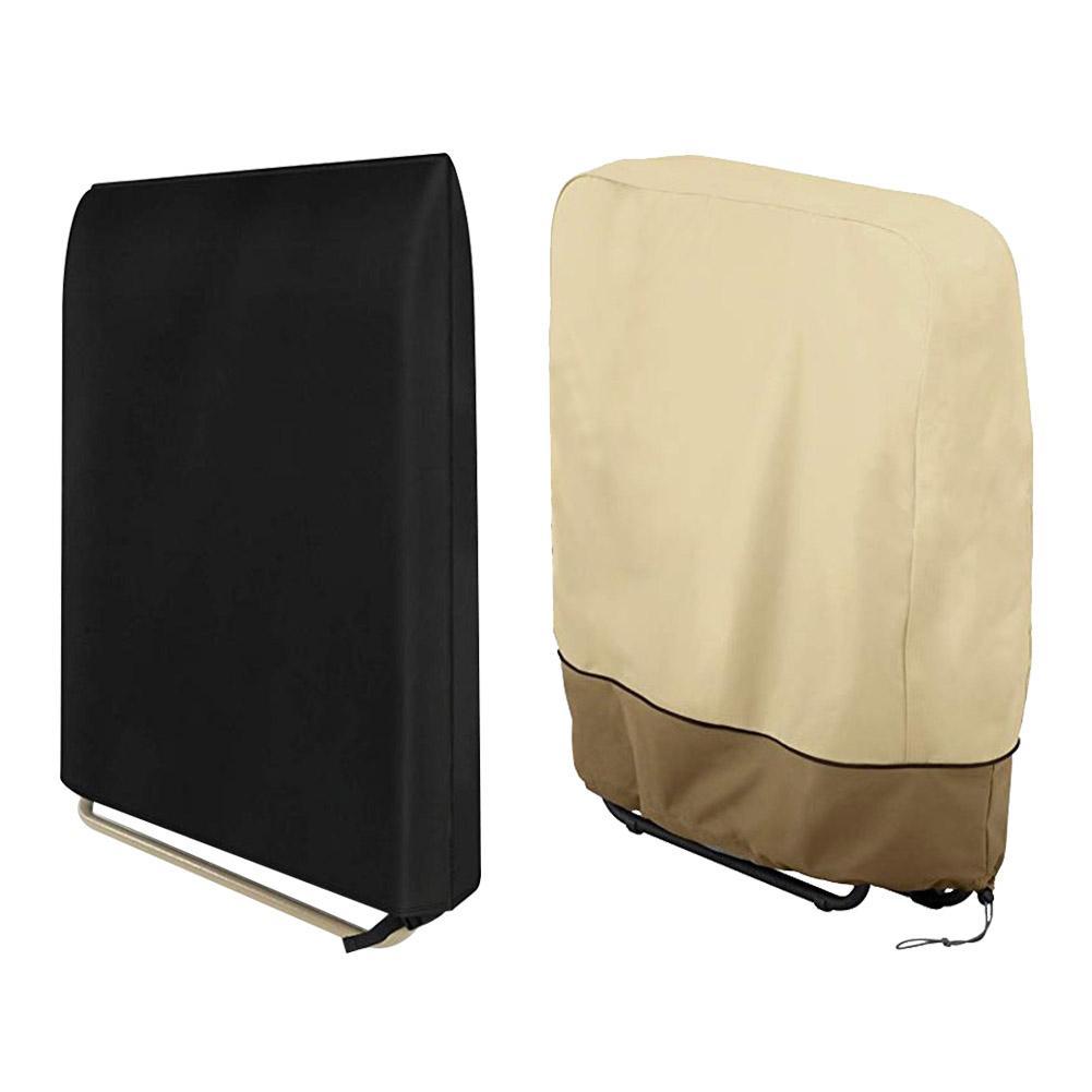 Nuevas cubiertas de barbacoa a prueba de agua, cubierta para silla de Patio, cubierta de lluvia de polvo resistente para jardín, Patio, Patio exterior, cubierta protectora para muebles