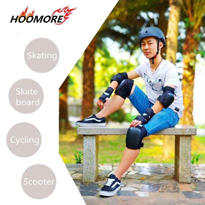 Rodillera deportiva de seguridad marca HOOMORE, almohadilla de codo para soporte de muñeca, patines en línea, patinaje de velocidad, Slalom FSK para SEBA para Powerslide