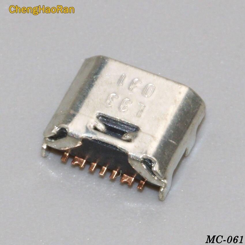 ChengHaoRan, 5 uds., carga micro usb de 7 pines, clavija de conexión del conector, puerto para Samsung i9082 i9080 i879 i8552 i869